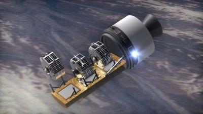 הדמיה של תהליך השיגור