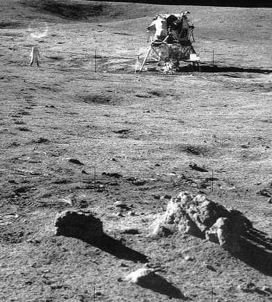 צילום מהירח